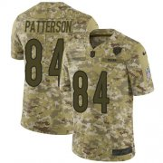 Wholesale Cheap Nike Bears #84 Cordarrelle Patterson Camo Men's Stitched NFL Limited 2018 Salute To Service Jersey