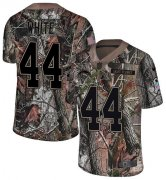 Wholesale Cheap Nike Chargers #44 Kyzir White Camo Men's Stitched NFL Limited Rush Realtree Jersey