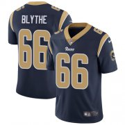 Wholesale Cheap Nike Rams #66 Austin Blythe Navy Blue Team Color Men's Stitched NFL Vapor Untouchable Limited Jersey