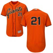 Wholesale Cheap Giants #21 Stephen Vogt Orange Flexbase Authentic Collection Stitched MLB Jersey