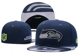 Wholesale Cheap Seattle Seahawks fitted hats 05
