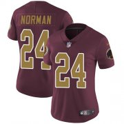 Wholesale Cheap Nike Redskins #24 Josh Norman Burgundy Red Alternate Women's Stitched NFL Vapor Untouchable Limited Jersey