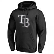 Wholesale Cheap Tampa Bay Rays Platinum Collection Pullover Hoodie Black