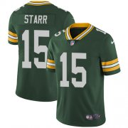 Wholesale Cheap Nike Packers #15 Bart Starr Green Team Color Men's Stitched NFL Vapor Untouchable Limited Jersey