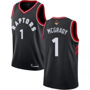 Wholesale Cheap Raptors #1 Tracy Mcgrady Black 2019 Finals Bound Basketball Swingman Statement Edition Jersey