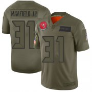 Wholesale Cheap Nike Buccaneers #31 Antoine Winfield Jr. Camo Youth Stitched NFL Limited 2019 Salute To Service Jersey