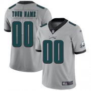 Wholesale Cheap Nike Philadelphia Eagles Customized Silver Men's Stitched NFL Limited Inverted Legend Jersey