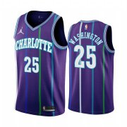 Wholesale Cheap Nike Hornets #25 PJ Washington Purple 2019-20 Classic Edition Stitched NBA Jersey