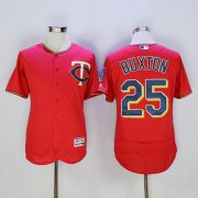 Wholesale Cheap Twins #25 Byron Buxton Red Flexbase Authentic Collection Stitched MLB Jersey
