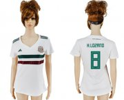 Wholesale Cheap Women's Mexico #8 H.Lozano Away Soccer Country Jersey
