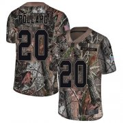Wholesale Cheap Nike Cowboys #20 Tony Pollard Camo Youth Stitched NFL Limited Rush Realtree Jersey