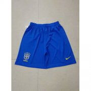 Wholesale Cheap Brazil Blank Home Soccer Country Shorts