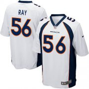 Wholesale Cheap Nike Broncos #56 Shane Ray White Youth Stitched NFL New Elite Jersey