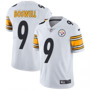 Wholesale Cheap Nike Steelers #9 Chris Boswell White Men's Stitched NFL Vapor Untouchable Limited Jersey