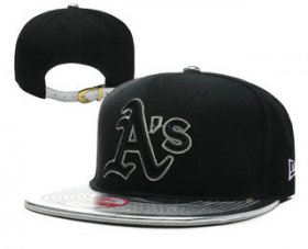 Wholesale Cheap MLB Oakland Athletics Snapback Ajustable Cap Hat 7