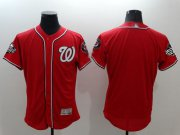 Wholesale Cheap Nationals Blank Red Flexbase Authentic Collection 2019 World Series Champions Stitched MLB Jersey