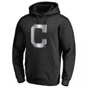 Wholesale Cheap Cleveland Indians Platinum Collection Pullover Hoodie Black