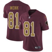 Wholesale Cheap Nike Redskins #81 Art Monk Burgundy Red Alternate Men's Stitched NFL Vapor Untouchable Limited Jersey