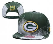 Wholesale Cheap Packers Team Logo Green White Adjustable Hat YD
