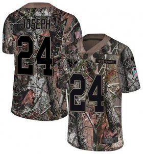 Wholesale Cheap Nike Texans #24 Johnathan Joseph Camo Youth Stitched NFL Limited Rush Realtree Jersey