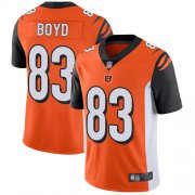 Wholesale Cheap Nike Bengals #83 Tyler Boyd Orange Alternate Youth Stitched NFL Vapor Untouchable Limited Jersey