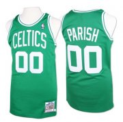 Wholesale Cheap Boston Celtics #00 Robert Parish Green Swingman Throwback Jersey