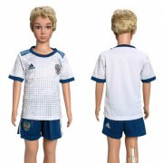 Wholesale Cheap Russia Blank Away Kid Soccer Country Jersey