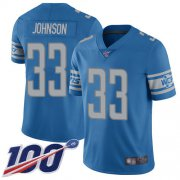 Wholesale Nike Lions #27 Glover Quin Blue Throwback Men's Stitched NFL Vapor Untouchable Elite Jersey