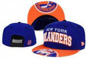 Wholesale Cheap NHL New York Islanders Team Logo Navy Snapback Adjustable Hat