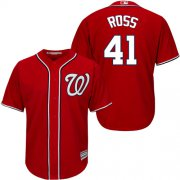 Wholesale Cheap Nationals #41 Joe Ross Red New Cool Base Stitched MLB Jersey