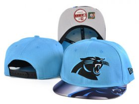 Wholesale Cheap Panthers Fresh Logo Blue Adjustable Hat SF