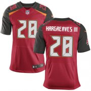 Wholesale Nike Buccaneers #28 Vernon Hargreaves III Red Team Color Men's Stitched NFL New Elite Jersey