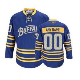 Wholesale Cheap Sabres New Third Personalized Authentic Navy Blue NHL Jersey (S-3XL)