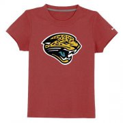 Wholesale Cheap Jacksonville Jaguars Sideline Legend Authentic Logo Youth T-Shirt Red