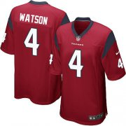 Wholesale Cheap Nike Texans #4 Deshaun Watson Red Alternate Youth Stitched NFL Elite Jersey
