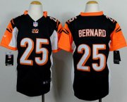 Wholesale Nike Bengals #25 Giovani Bernard Black Team Color Youth Stitched NFL Elite Jersey