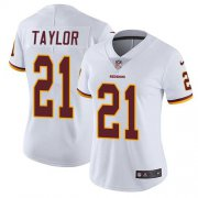 Wholesale Cheap Nike Redskins #21 Sean Taylor White Women's Stitched NFL Vapor Untouchable Limited Jersey