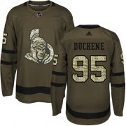 Wholesale Cheap Adidas Senators #95 Matt Duchene Green Salute to Service Stitched Youth NHL Jersey