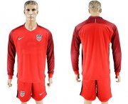 Wholesale Cheap USA Blank Away Long Sleeves Soccer Country Jersey