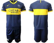 Wholesale Cheap Boca Juniors Blank Home Soccer Club Jersey