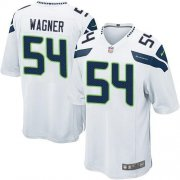 Wholesale Cheap Nike Seahawks #54 Bobby Wagner White Youth Stitched NFL Elite Jersey