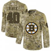 Wholesale Cheap Adidas Bruins #40 Tuukka Rask Camo Authentic Stitched NHL Jersey