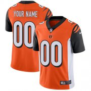 Wholesale Cheap Nike Cincinnati Bengals Customized Orange Alternate Stitched Vapor Untouchable Limited Men's NFL Jersey