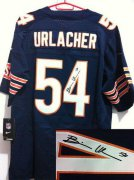 Wholesale Cheap Nike Bears #54 Brian Urlacher Navy Blue Team Color Men's Stitched NFL Elite Autographed Jersey