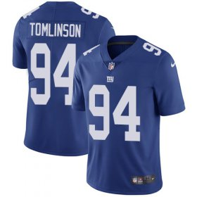 Wholesale Cheap Nike Giants #94 Dalvin Tomlinson Royal Blue Team Color Youth Stitched NFL Vapor Untouchable Limited Jersey