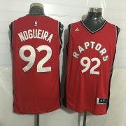 Wholesale Cheap Men's Toronto Raptors #92 Lucas Nogueira Red New NBA Rev 30 Swingman Jersey