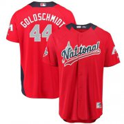 Wholesale Cheap Diamondbacks #44 Paul Goldschmidt Red 2018 All-Star National League Stitched MLB Jersey