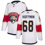 Wholesale Cheap Adidas Panthers #68 Mike Hoffman White Road Authentic Stitched NHL Jersey