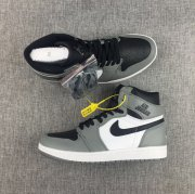 Wholesale Cheap Air Jordan 1 Shadow Cool Grey/Black-White