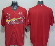 Wholesale Cheap Cardinals Blank Red New Cool Base Stitched MLB Jersey